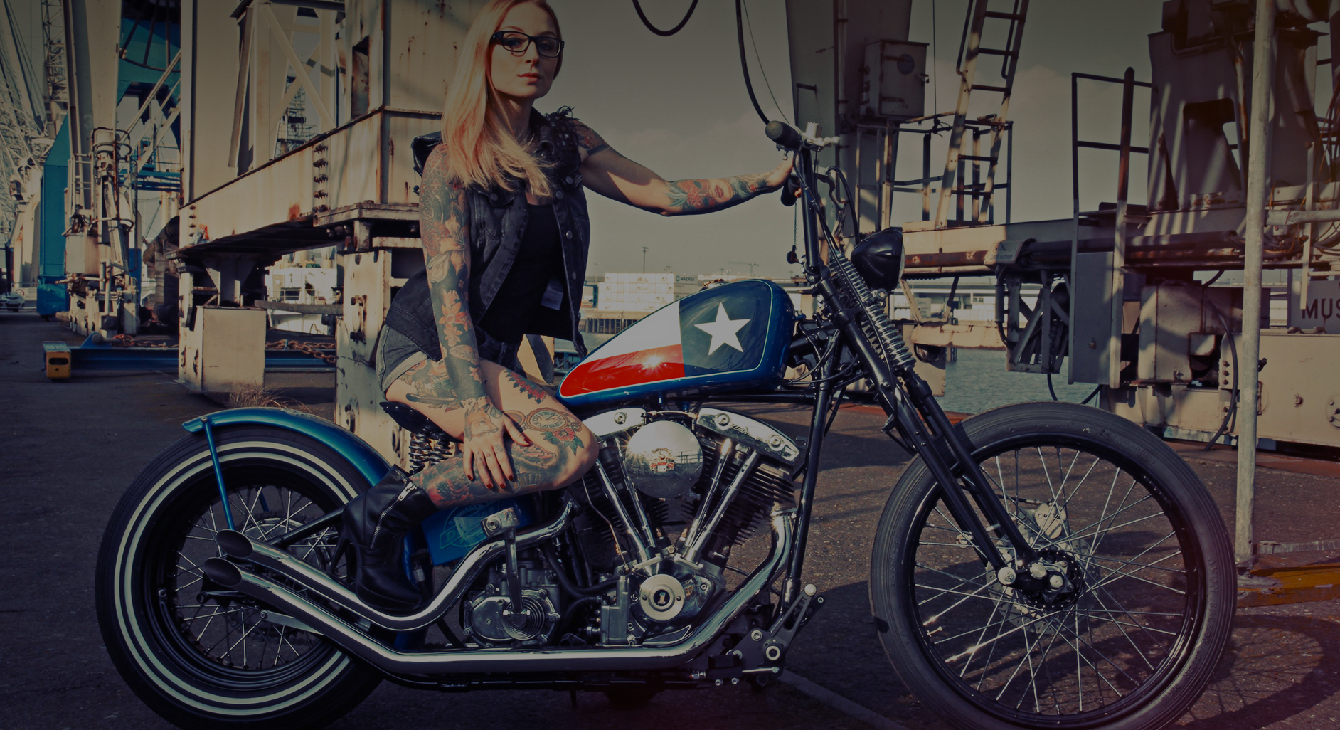 Speedmonsters & Dickies Custombike